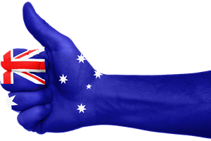 Thumbs up for Australia Day