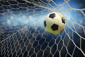 kick a sports goal